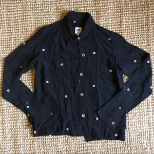 OPENING CEREMONY Daisy Button Shirt